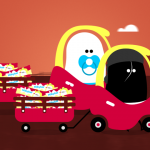 Watch this wonderful animation in aid of Saint Francis Hospice featuring Adam Buxton as narrator