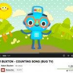 """Adam Buxton's """"Counting Song"""" hits a million views on YouTube"""
